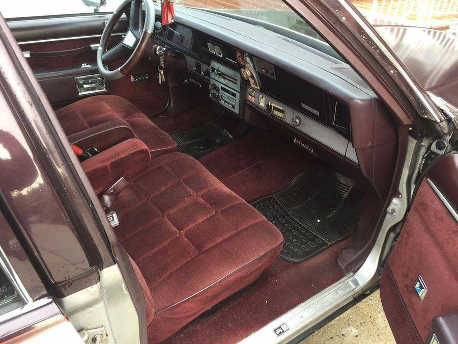 View 1985 Caprice Classic Interior