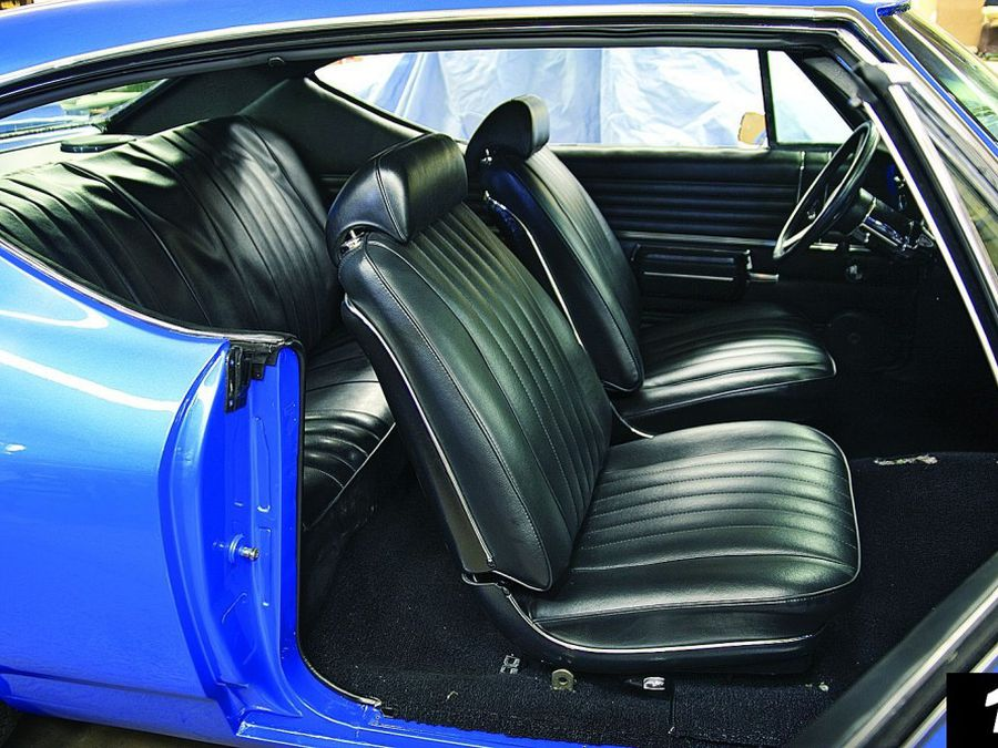 Modern Seat Installation Hemmings