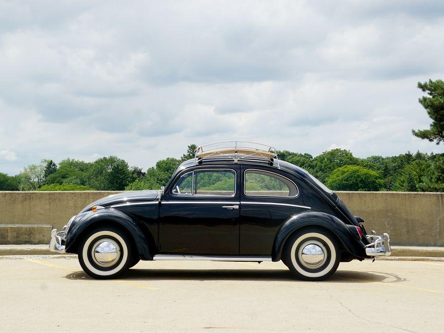 used ok VW Volkswagen Chrome Center Hub Cap 10 inch beetle bug  bus