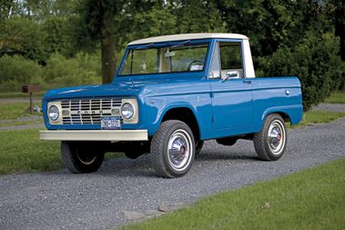 Year Make And Model 1966 77 Ford Bronco Hemmings