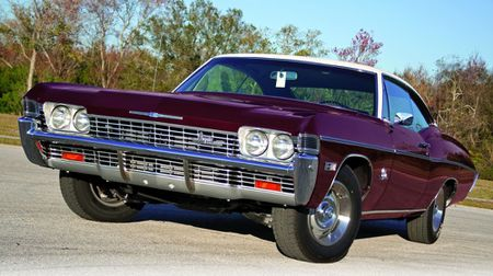 Small Block Super Sport 1968 Chevrolet Impala Ss Hemmings