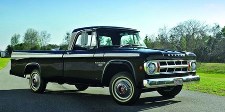 Hood Bumper Set for 1961-1971 Dodge Trucks