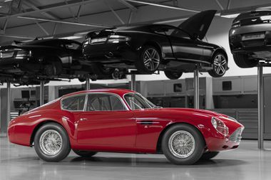 Aston Martin S Db4 Gt Zagato Returns For Another Curtain Call Hemmings