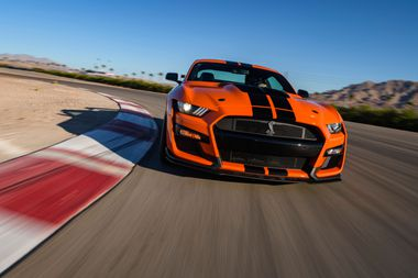 Driving The 2020 Ford Mustang Shelby Gt500 Hemmings