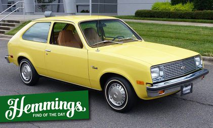 not only has this 1979 chevette survived in original condition hemmings 1979 chevette survived