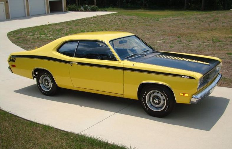 Hemmings Find Of The Day 1972 Plymouth Duster 340 Hemmings