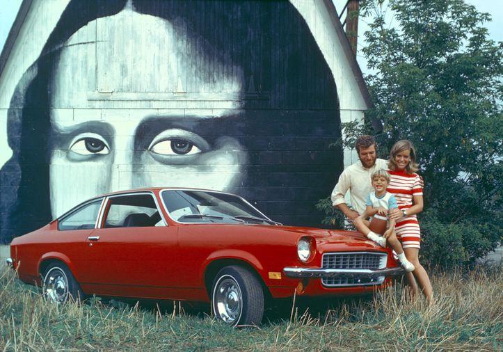 Original 1971 Chevy Vega Dealer Poster