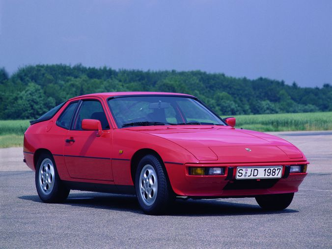 1987 Porsche 924s Rim