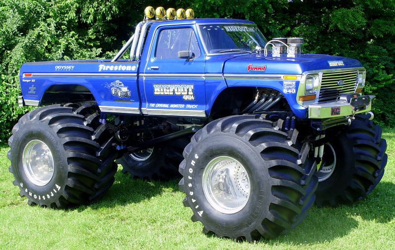Atlanta Motorama To Reunite 12 Generations Of Bigfoot Monster Trucks Hemmings