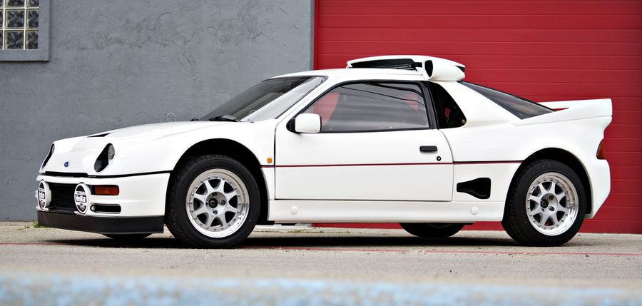 One Of 24 Built By Ford 1986 Rs200 Evolution Heads To Auction