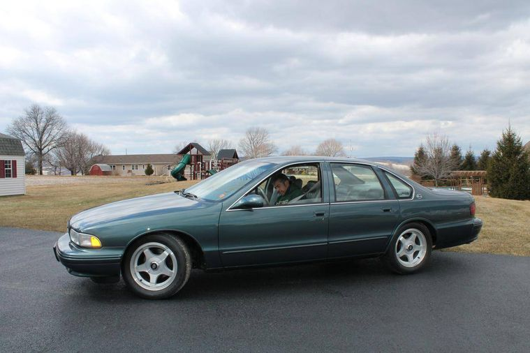 hemmings find of the day 1995 chevrolet impala ss hemmings 1995 chevrolet impala ss