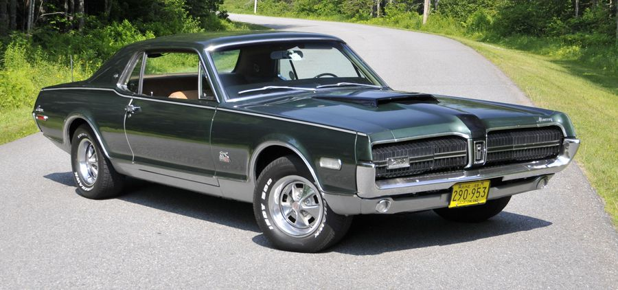 rare cat spotted in maine a 1968 mercury cougar xr 7 gt e with a hemmings a 1968 mercury cougar xr 7 gt e with a