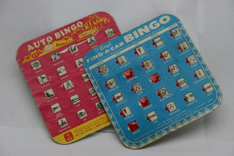 Disposable bingo cards bulk