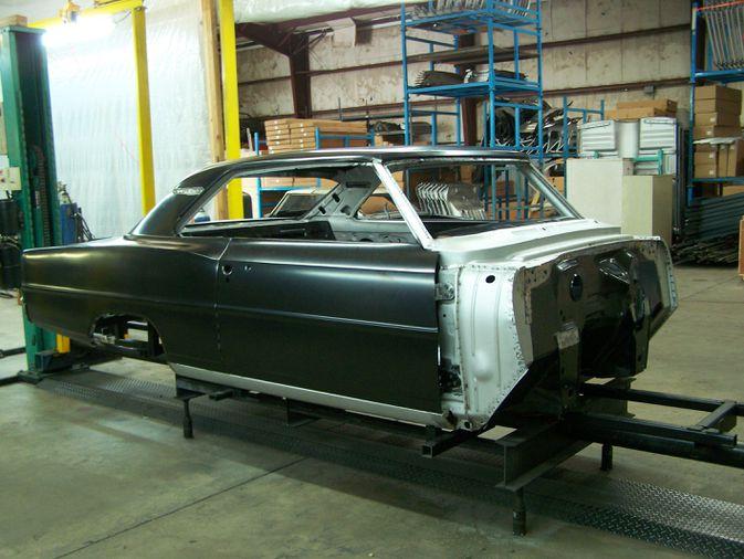 1965 Chevy ll black license plate car tag 65 Chevrolet Nova super sport 2 Two