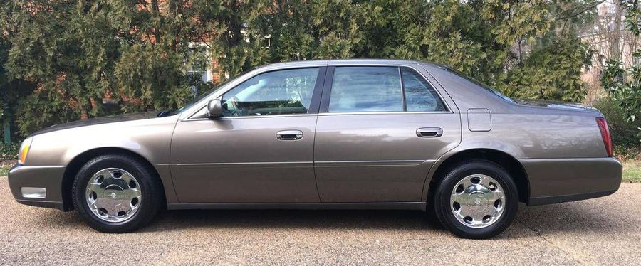 hemmings find of the day 2000 cadillac deville dhs hemmings 2000 cadillac deville dhs