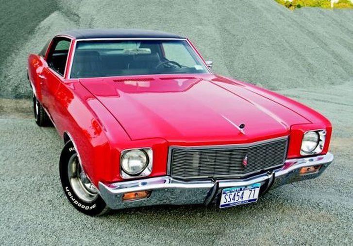 1971 Chevrolet Monte Carlo Ss 454 Hemmings