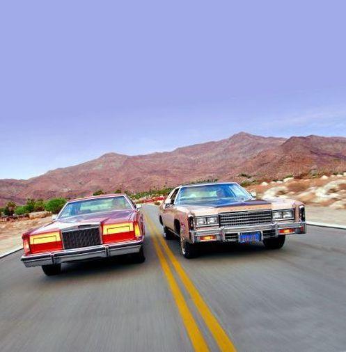 A Closer Look At The Cadillac Cts V Championship Edition: 1977 Lincoln Mark V, 1978 Cadillac