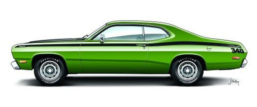 1971 72 Plymouth Duster 340 Hemmings