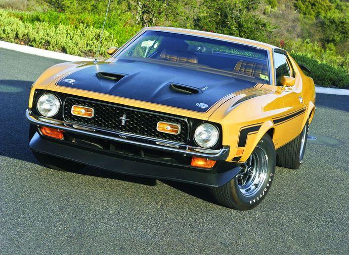 1971 FORD MUSTANG MACH 1 /& HARDTOP Sports Car Vintage Look REPLICA METAL SIGN