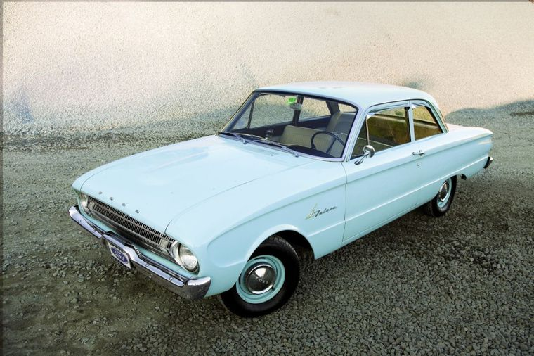 Preserving The Past 1961 Ford Falcon Tudor Sedan Hemmings