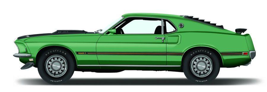 1969 Ford Mustang Mach 1 Hemmings