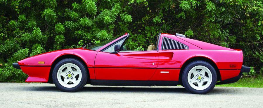 Pininfarina S Masterpiece 1984 Ferrari 308 Gts Hemmings