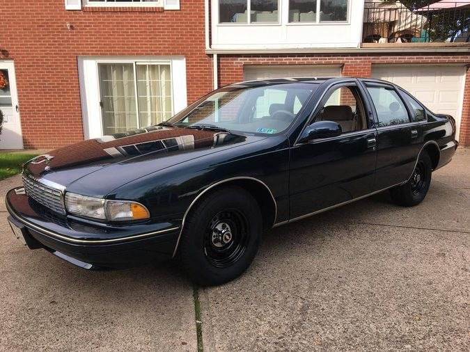 hemmings find of the day 1995 chevrolet caprice classic police hemmings 1995 chevrolet caprice classic police