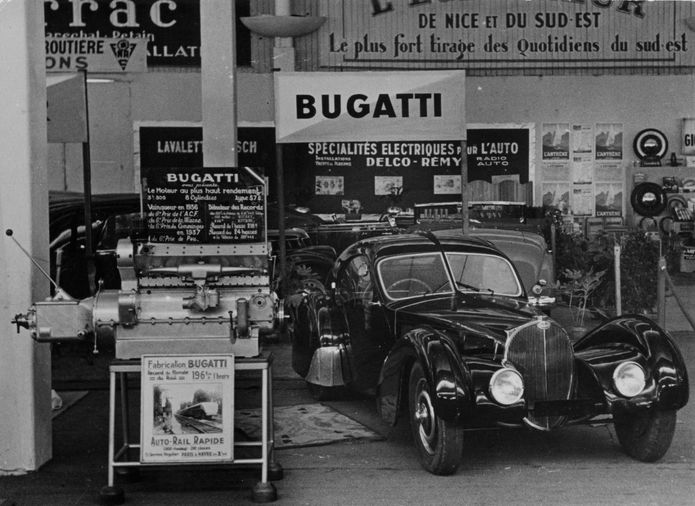 Missing Bugatti