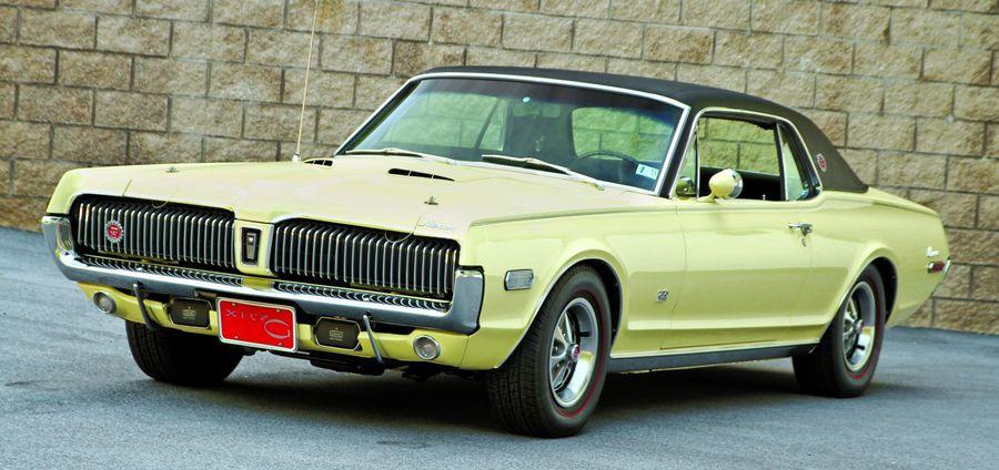 The Other Gurney 1968 Mercury Cougar Xr7 G Hemmings