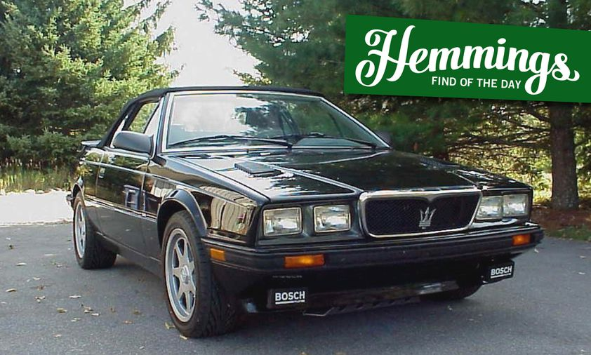 Hemmings Find of the Day: 1990 Maserati Spyder Zagato ...