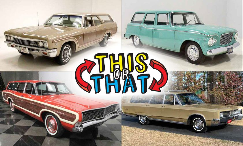 Which station wagon from the Sixties would you choose for your...