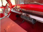 1954 Chevy Bel Air interior with aftermarket air conditioning