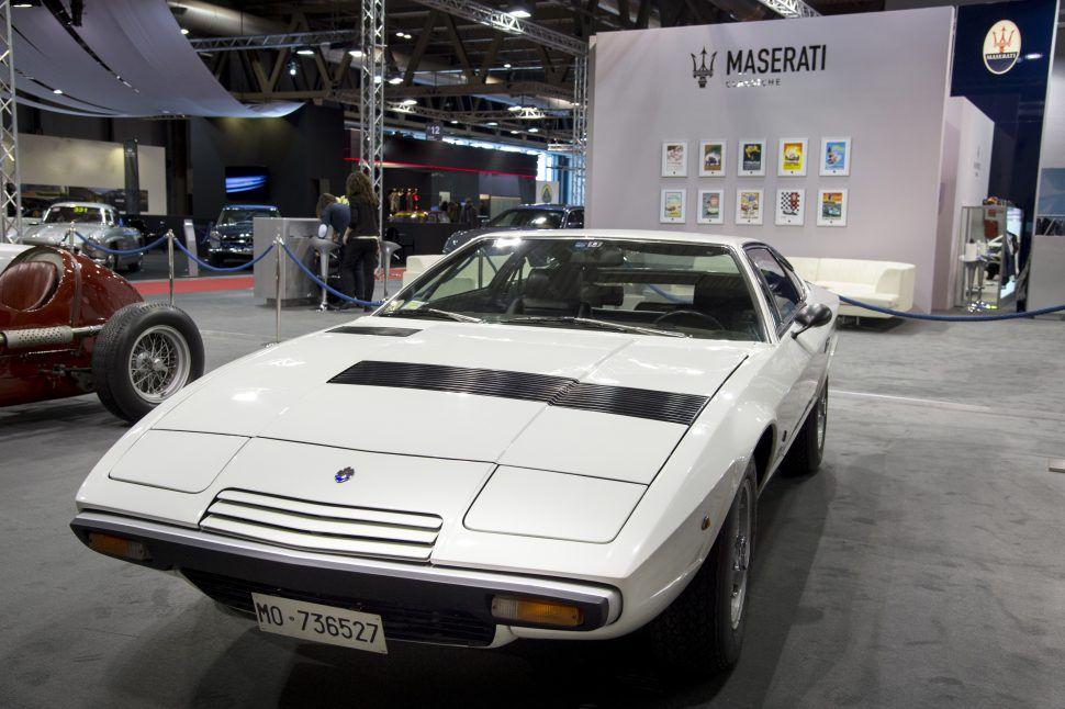 Maserati Khamsin white