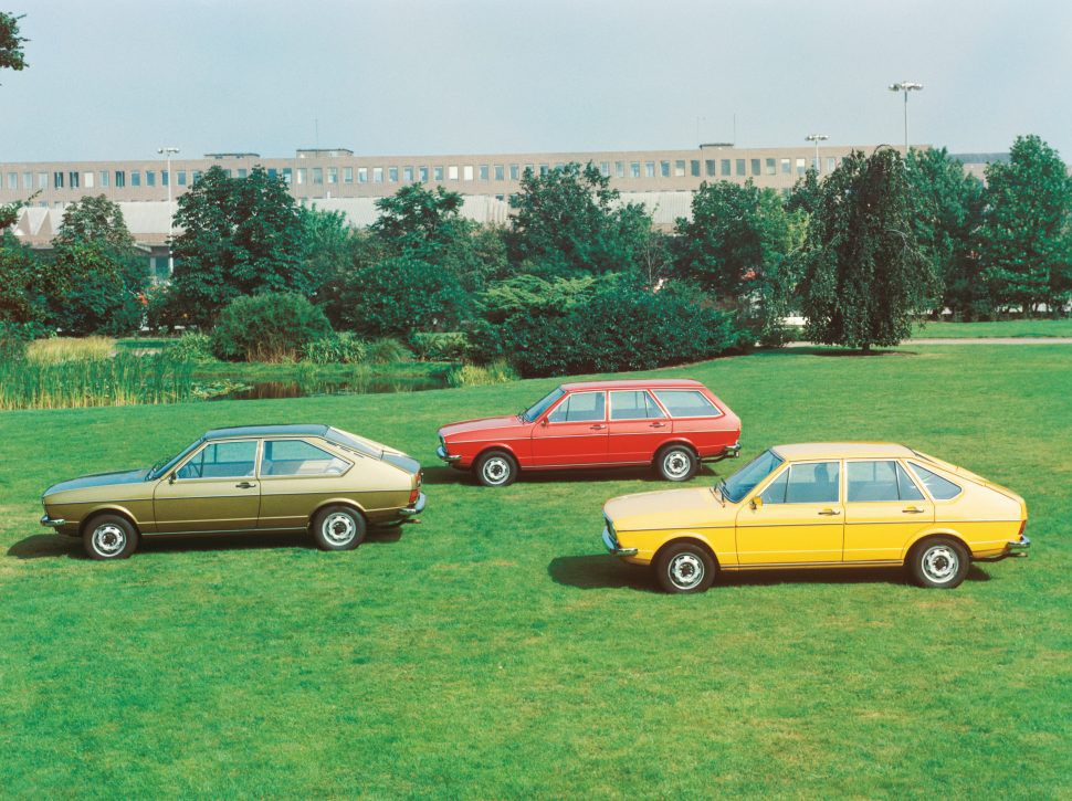 First-generation Volkswagen Passat family