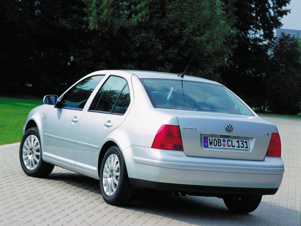Volkswagen Bora, aka the Jetta IV