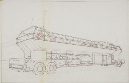 Ford's 1966 plan for city congestion: little cars that fit in huge buses
