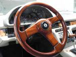 1990 Maserati Zagato Spyder steering wheel wood