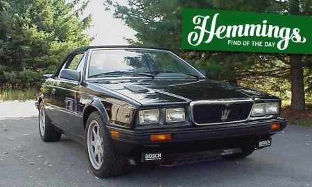 Hemmings Find of the Day: 1990 Maserati Spyder Zagato
