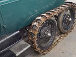 Ford Model A snowmobile tank treads