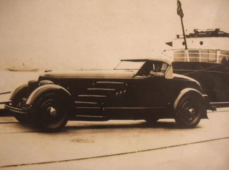 Missing: the most advanced vehicle that Harry A. Miller ever built