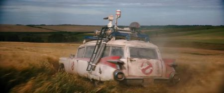 The Ecto-1 hearse in the new Ghostbusters flick is actually the once-neglected Ecto-1A