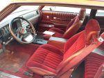 1985 Chevrolet Monte Carlo red interior