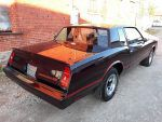 1985 Chevy Monte Carlo SS rear maroon