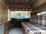 1967 Ford Bronco pop-up camper interio