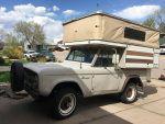 1967 Bronco four wheel pop up camper addition