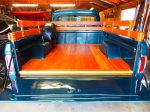 1964 Ford F-100 blue with orange bed