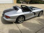 1999 Dodge Viper RT/10 sliver with black stripes