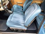 1965 Plymouth Barracuda blue velvet seats