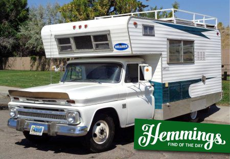 Hemmings Find of the Day - 1966 Chevrolet C20 camper