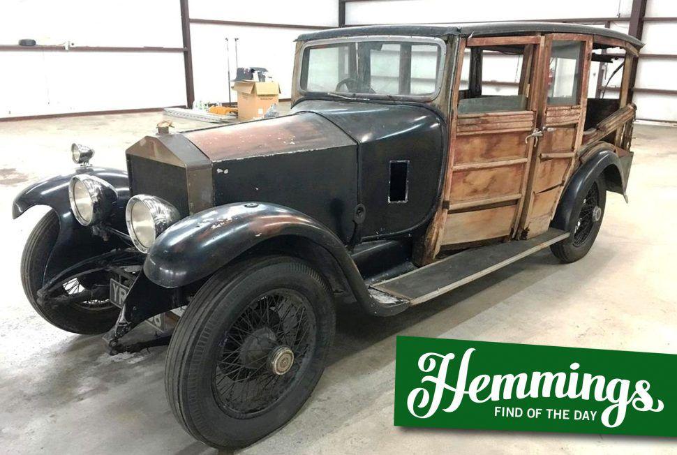 1926 Rolls Royce 20HP shooting brake Hemmings Find of the Day